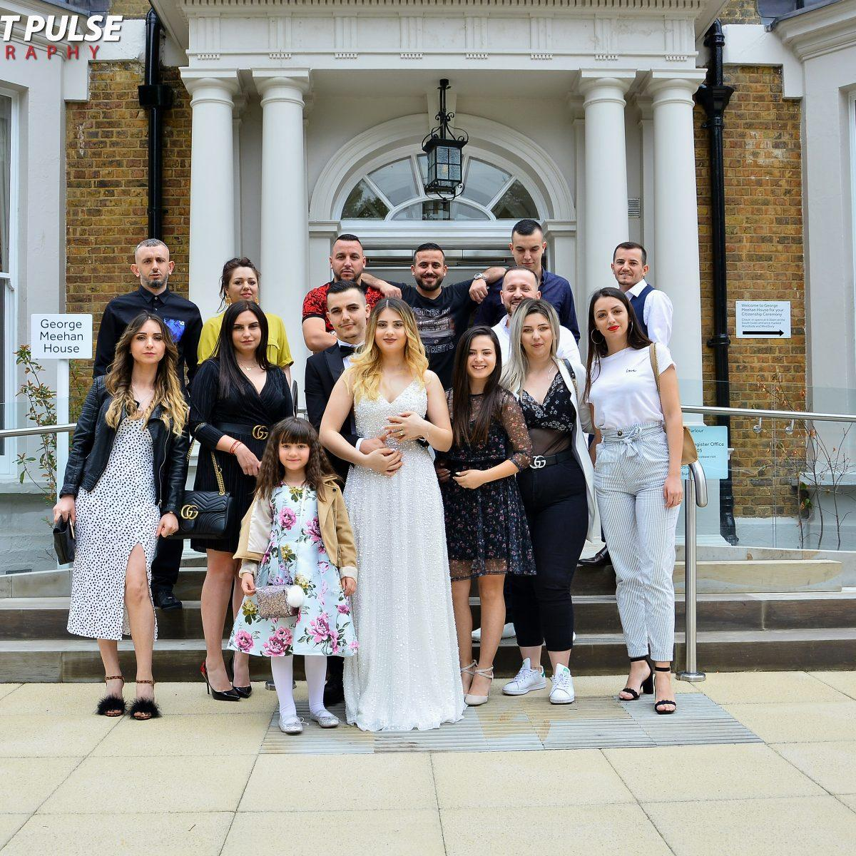 Civil ceremony photography services in London